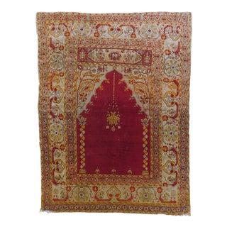 Antique Turkish Prayer Rug For Sale