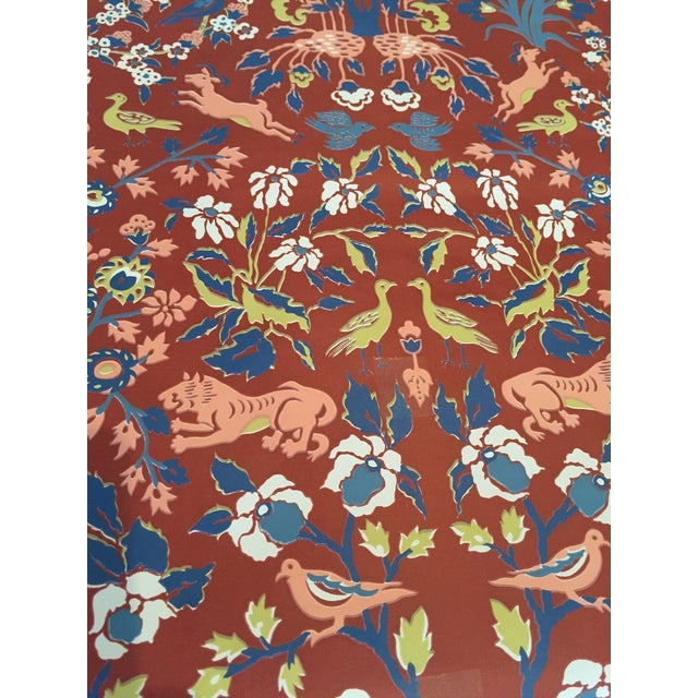 Vintage Iconic Schumacher Persian Style Wallpaper - Image 2 of 7