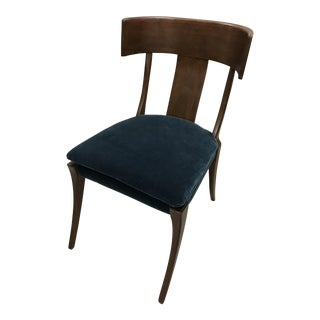 Mr. & Mrs. Howard Custom Velvet Upholstered Gibby Chair
