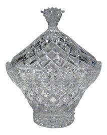 Image of Crystal Serving Dishes and Pieces