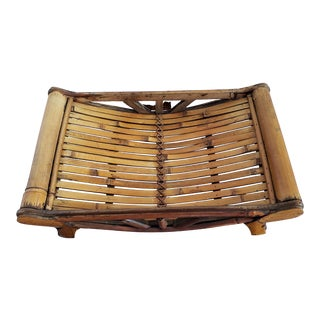 Small Bamboo Decorative Tray For Sale