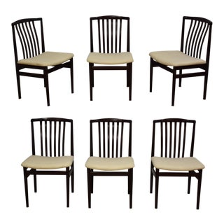 Danish Modern Dining Chairs - Set of 6 For Sale