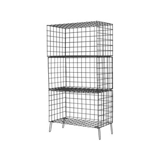 New Wire Shelf Three Compartiments Storage Shelf by Houtique For Sale