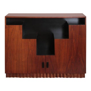 Art Deco Skyscraper Bookcase Manner of Paul Frankl Display Storage Cabinet For Sale