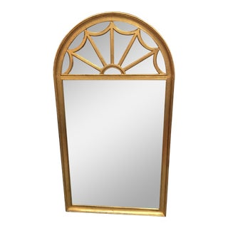 Gold Painted Archtop Mirror