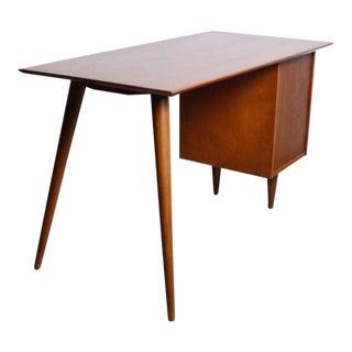 1960s Danish Modern Paul McCobb for Planner Group Tanker Desk For Sale