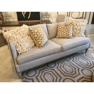 Vanguard Sofa in Geometric Gray Fabric Preview