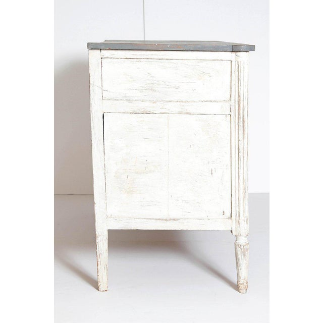 Wood Antique French Louis XVI Style Chest of Drawers or Commode For Sale - Image 7 of 13