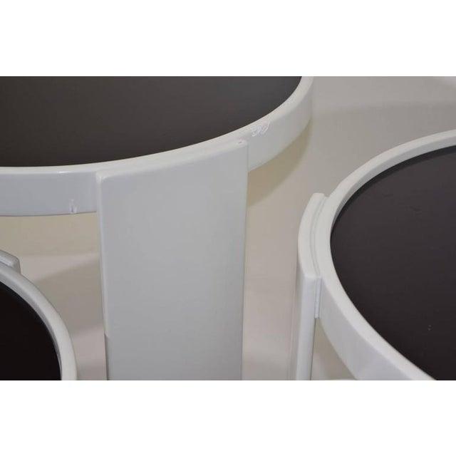 Set of Four Gianfranco Frattini for Cassina Nesting Tables - Image 3 of 6