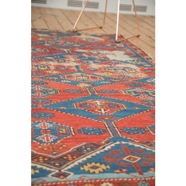 "Antique Shirvan Rug - 4'4"" x 7'8"" For Sale - Image 9 of 11"