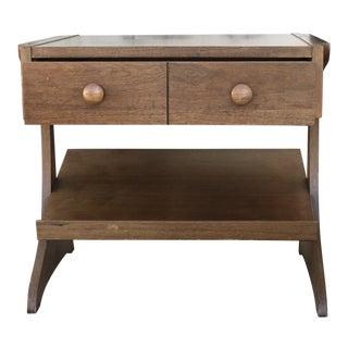 Mid Century Modern Kroehler Side Table For Sale