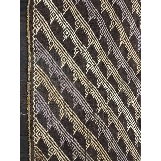 """Bellwether Rugs Vintage Turkish Kilim Rug - 5'5"""" x 10'5"""" - Image 4 of 6"""
