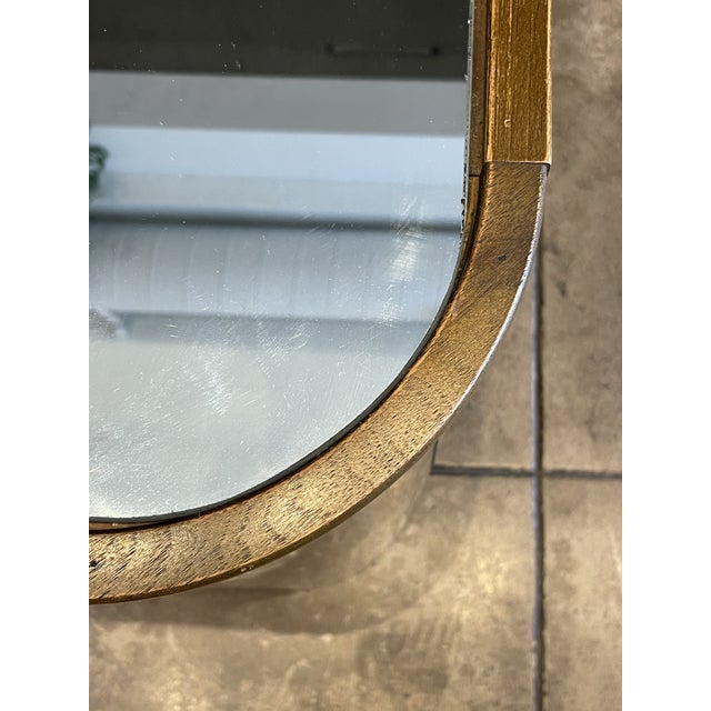 1970s Chrome and Mirror Console Table For Sale In Los Angeles - Image 6 of 13