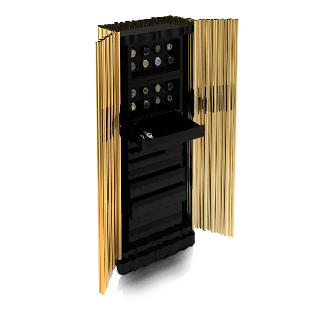 The Symphony Luxury safe is a statement piece whose contemporary design emulates the grandeur of traditional church organ...