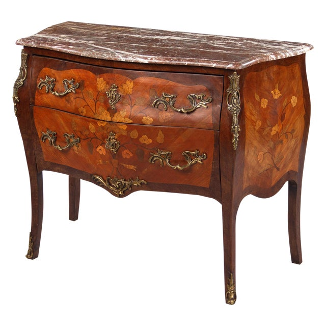French Louis XV Style Two-Drawer Commode - Image 1 of 10