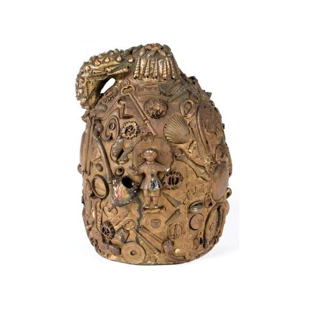 Antique Folk Art Memory Jug - Image 1 of 5