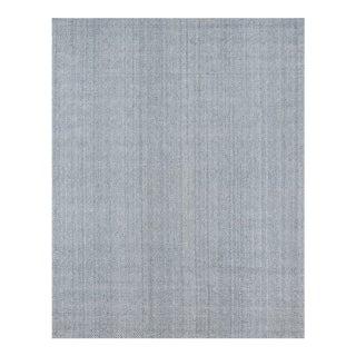 Erin Gates by Momeni Ledgebrook Washington Grey Hand Woven Area Rug - 7′9″ × 9′9″ For Sale