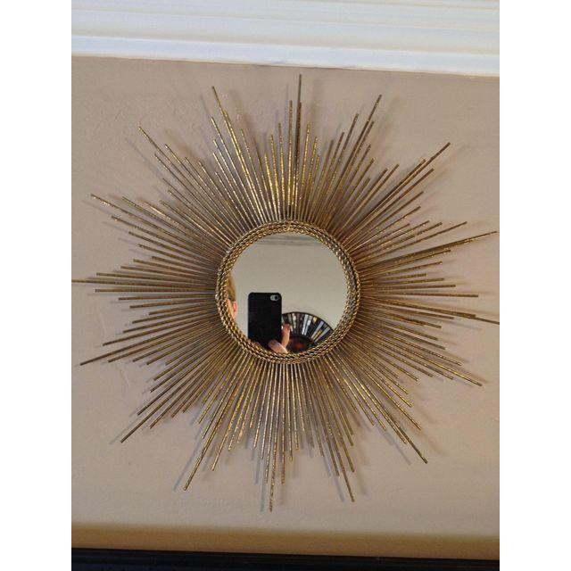 Art Deco Style Gold Starburst Mirror - Image 2 of 7
