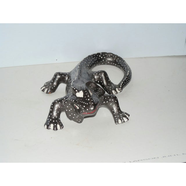 Hand Painted Ceramic Gecko - Image 6 of 6