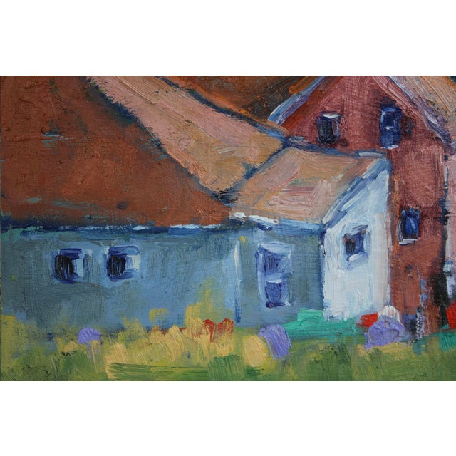 Original Oil Painting Landscape, Fort Bragg California For Sale - Image 10 of 13