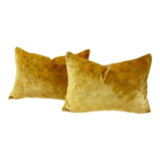 Kevin O'Brien Studio Silk Velvet Pillows, Pair For Sale