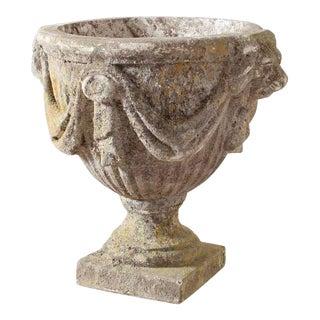 Vintage Stone Vase For Sale