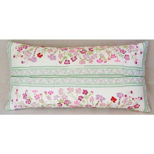 Niki Goulandris Hermes French Floral Silk Pillow - Image 6 of 8