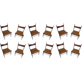 Vestervig Erikson Danish Rosewood Dining Chairs - Set of 12 For Sale