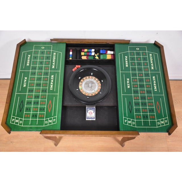 Italian Game Table Set For Sale In Boston - Image 6 of 11