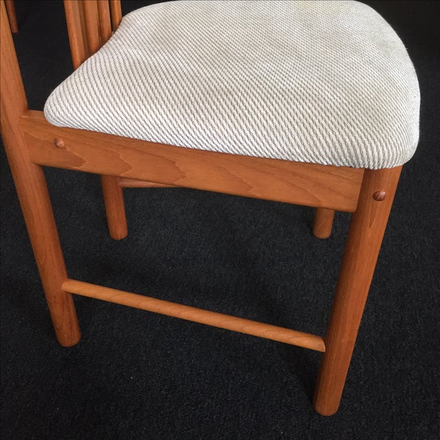 Teak Chairs by Benny Linden - Set of 6 - Image 10 of 11