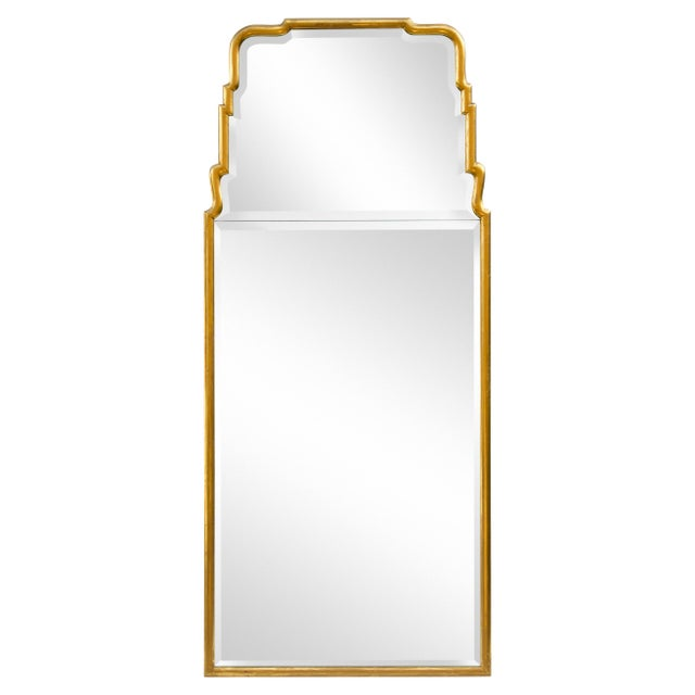 Large Queen Anne Divided Plate Mirror For Sale - Image 12 of 12