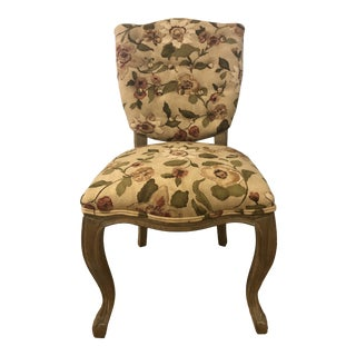 "Newly Upholstered Arhaus ""Ava"" Side Chair For Sale"