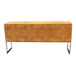 Mid-Century Modern Walnut Sideboard Attributed to Milo Baughman For Sale