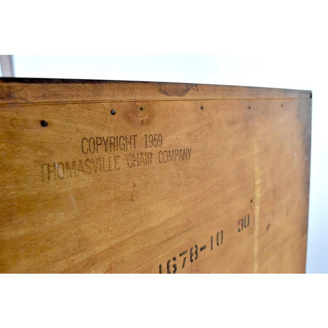 Mid-Century Chest of Drawers by Thomasville Motif For Sale - Image 12 of 13