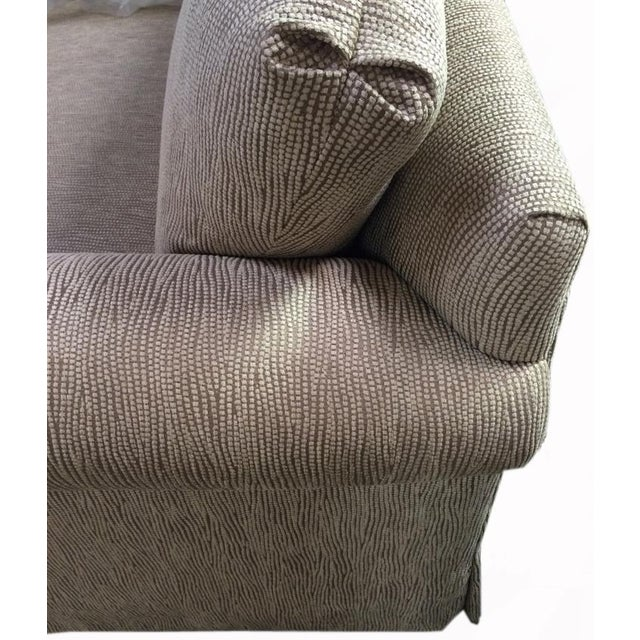 Newly Upholstered 2016 Love Seat With New Cushions For Sale - Image 5 of 6