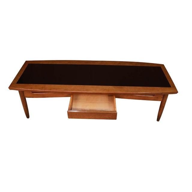 Mid Century Coffee Table Black: Mid Century Modern Surfboard Coffee Table American Of