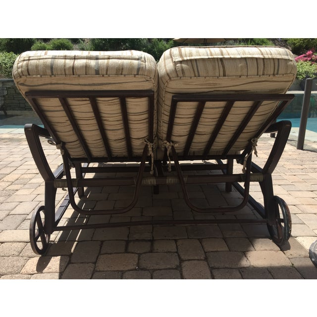Outdoor Double Chaise - Image 9 of 9