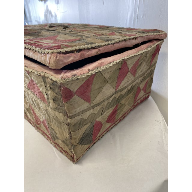 Antique Katha Quilt Box For Sale In Washington DC - Image 6 of 12