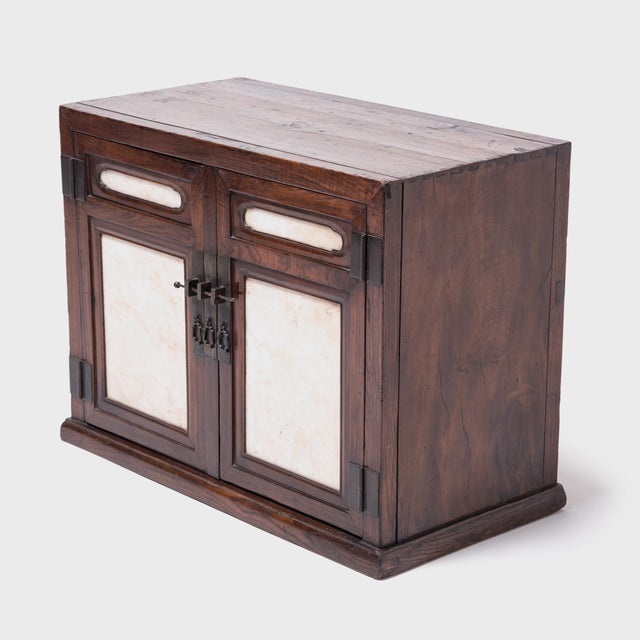 Over two centuries ago, this handsome chest was handcrafted in China's Shanxi province out of the highest quality...