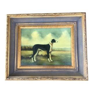 """""""Bordesry"""" Dog Portrait Oil Painting For Sale"""