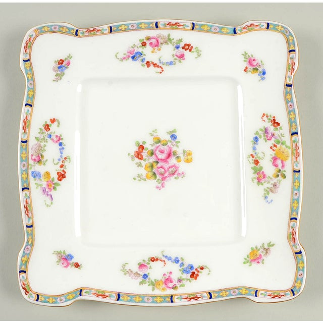 Minton Square Serving Platter (Pattern # B806 ) For Sale In Greensboro - Image 6 of 6