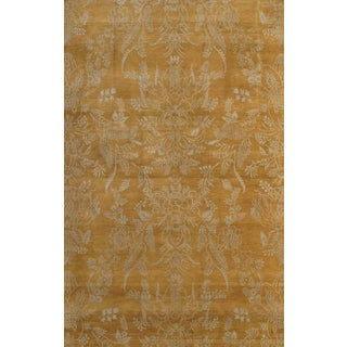 Pasargad N Y Nepal Modern Hand-Knotted Rug - 6′ × 9′ For Sale
