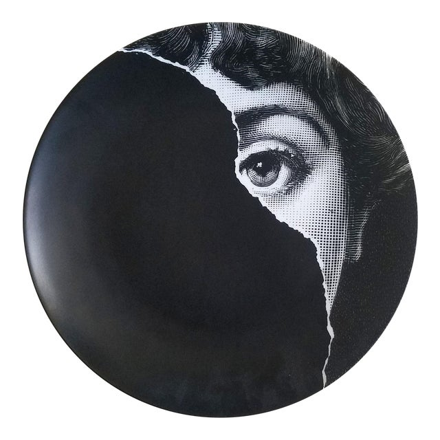Fornasetti Tema E Variazioni Plate, Number 145 For Sale