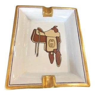 1970s Gucci Porcelain Ashtray For Sale
