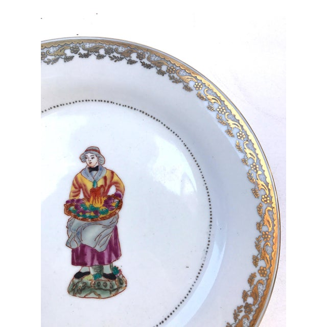 Kitchen Decorative Plates - Set of 6 For Sale - Image 5 of 11