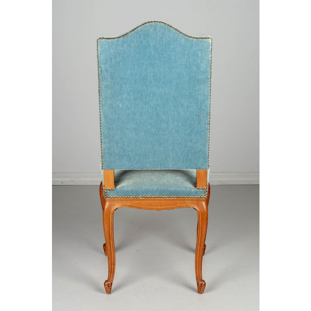 Wood French Louis XV Style Dining Chairs - Set of Six For Sale - Image 7 of 10
