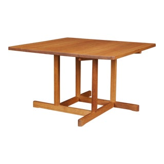 Square Borge Mogensen Coffee Table 'Model 5271' For Sale
