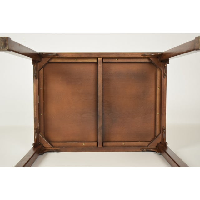 Traditional Mahogany Sheraton Style Side Table For Sale - Image 4 of 5
