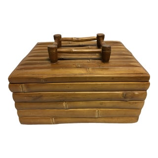 Artisan Bamboo Wooden Treasure Box