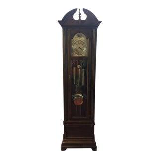 Vintage Seth Thomas Traditional Grandfather Clock For Sale